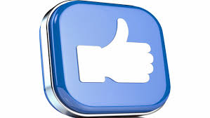 facebook thumbs up slant